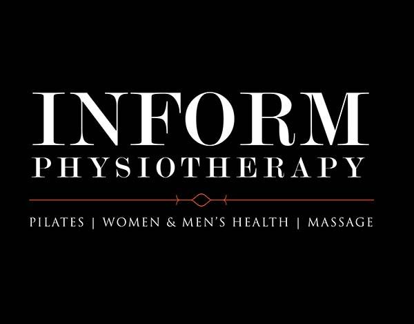 Inform Physiotheraphy logo Black Background