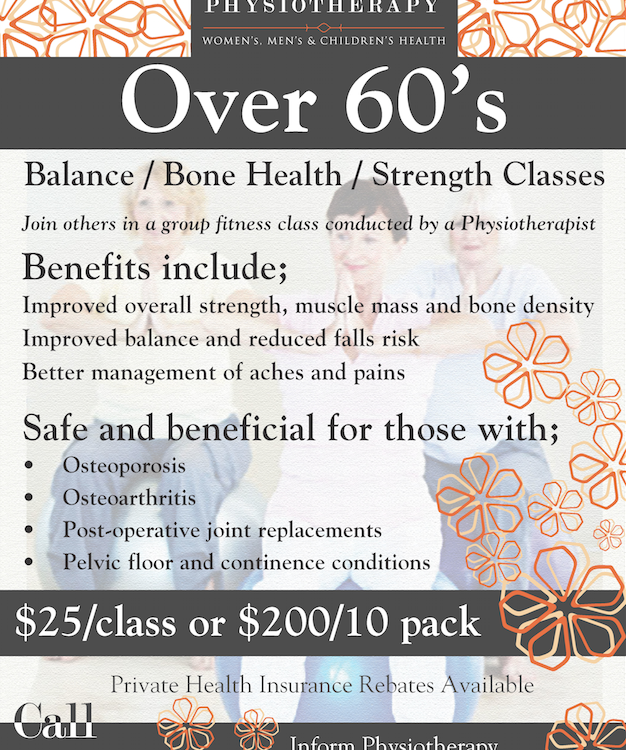 Over 60's Flyer